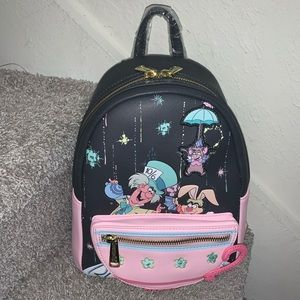 Mad Tea Party Loungefly Mini Backpack